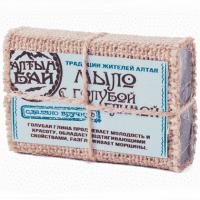 Мыло ручной работы «C голубой глиной» Алтынбай