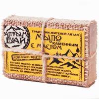 Мыло ручной работы «C каменным маслом» Алтынбай