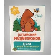 """Драже """"Алтайский медвежонок с солодкой и пантогематогеном"""""""