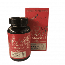 Pantovital capsules with red root