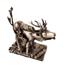 "Bronze figurine ""Deer"""