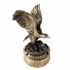 "Figurine ""Bronze eagle"""