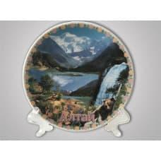 """The decorative plate """"Altai"""""""