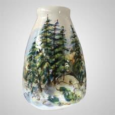 """The ceramic vase """"Mountain Altai"""""""