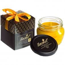 "Cream-candle ""Sachel Candel Creme Native"""