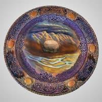 "Decorative plate on a wall ""Katun"""