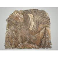 """Настенное панно из дерева """"Орел с расправленными крыльями"""""""