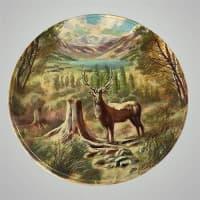 """Декоративная тарелка на стену """"Марал"""""""