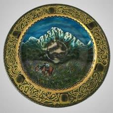"""A decorative plate """"Peak"""""""