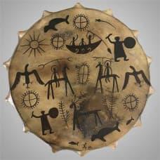 Shaman tambourine