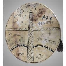 "Shaman tambourine ""Strength of a bird"""