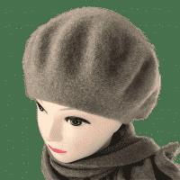 Кашемировый берет + шарф