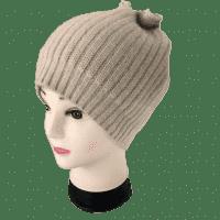 Кашемировая шапка женская