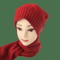 Кашемировая шапка + шарф