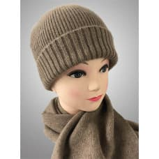Men's cashmere cap and scarf