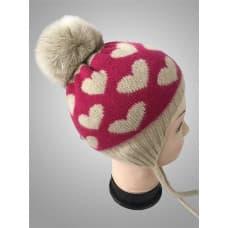 Детская кашемировая шапка