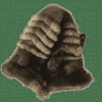 Варежки из меха соболя женские