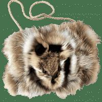 Муфта женская из меха лисы