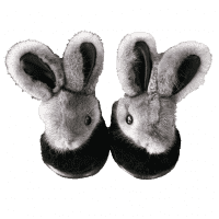 Hare slippers