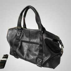 Мужская кожаная наплечная сумка