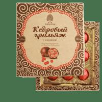 """Конфеты Сибирский Кедр """"Кедровый грильяж с клюквой"""""""
