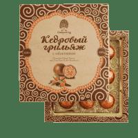 """Конфеты Сибирский Кедр """"Кедровый грильяж с облепихой"""""""