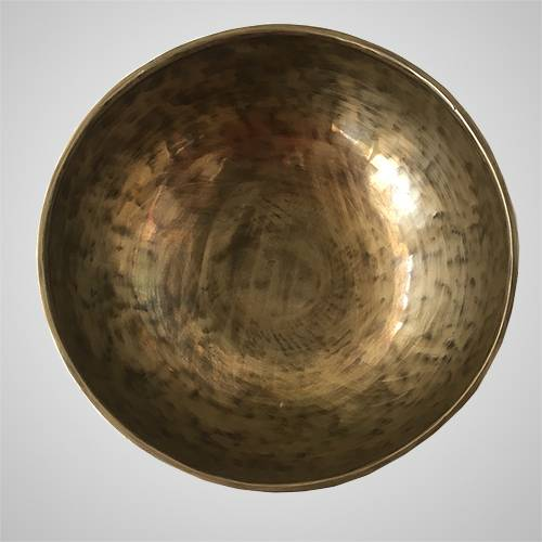 how to clean tibetan singing bowl