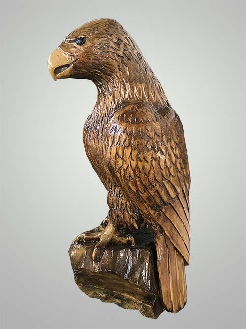 коми резной орел из дерева картинки цвет сибирского колонка