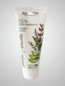 "AltaiBio Gel for washing ""Sage and aloe"""